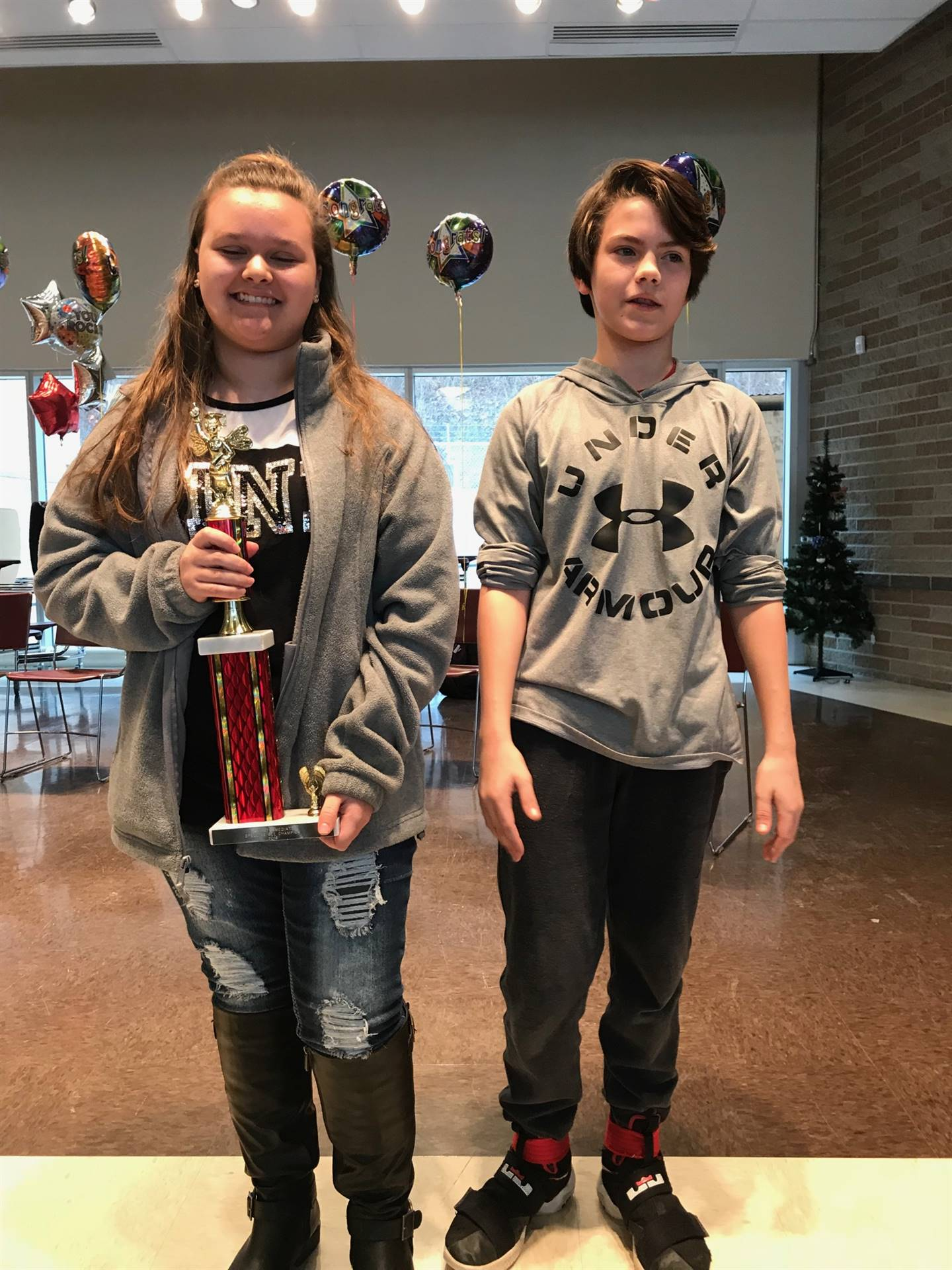 Oak Intermediate Spelling Bee Winners (2018)