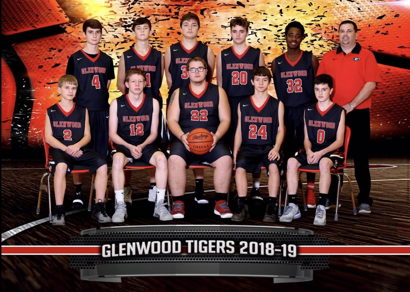 JV Basketball (2018-2019)
