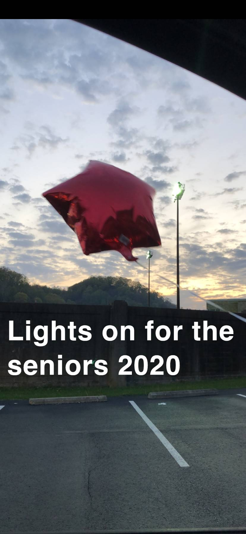 lights on for the seniors 2020